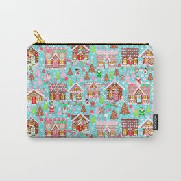 Gingerbread House Christmas Winter Candy, sweets.christmas gift, holiday gift for kids of all ages, Carry-All Pouch