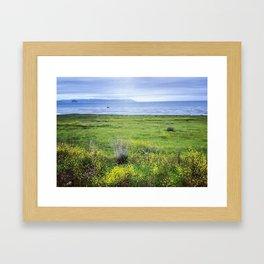 cayucos, california Framed Art Print