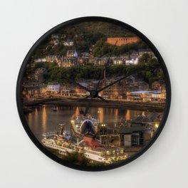 Oban Promenade  Wall Clock