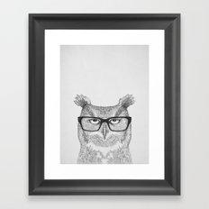 Earnest Framed Art Print