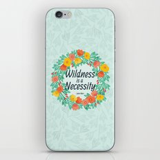 Floral Wildness iPhone & iPod Skin