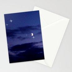 Mond am Südhorizomt. Stationery Cards