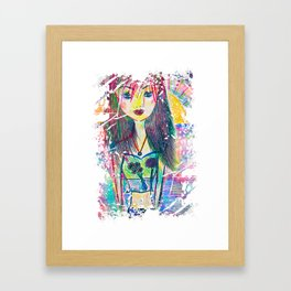 You are A Child of the Univerese, No Less than the Trees and the Stars Framed Art Print
