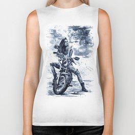 Biker Girl Biker Tank