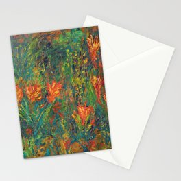 """""""Spring Ahead"""" Stationery Cards"""