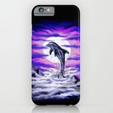 Moonlight-Dolphin iPhone 6s Slim Case