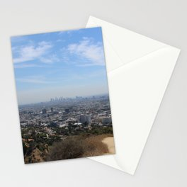 Los Angeles, View from Runyon Canyon Stationery Cards