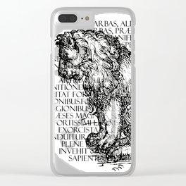 Hierarchia Inferni - Marbas Clear iPhone Case