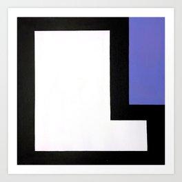 Geometric Design by Dominic Joyce Art Print