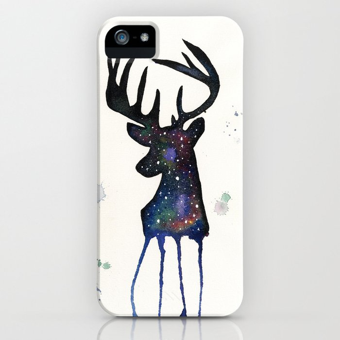 Spirit Nebula Stag iPhone Case