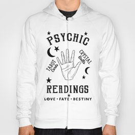 Psychic Readings Fortune Teller Art Hoody