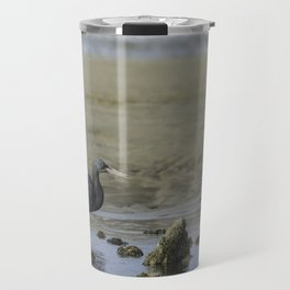 Eastern (Pacific) Reef Egret Travel Mug