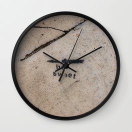 Cemented Series 7 Wall Clock
