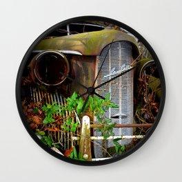 Virginia - Old Car LaSalle Wall Clock