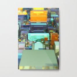 Metroscape Metal Print