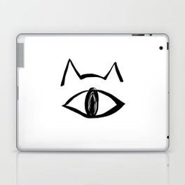 One eye cat Laptop & iPad Skin