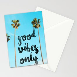 Good LA Vibes Only #society6 #lifestyle Stationery Cards