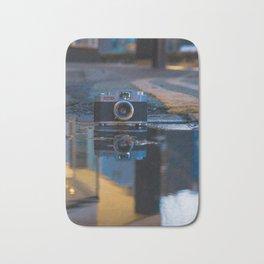 35 mm Camera Art Bath Mat