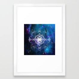 Cosmos vibration Framed Art Print