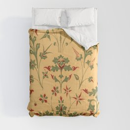Floral Pattern Decor Ornaments Comforters