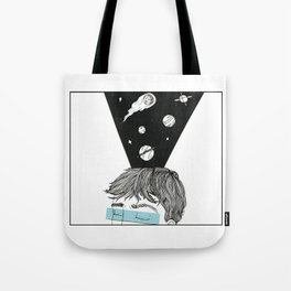 I see Galaxies Tote Bag