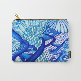 Blue Sploodge  Carry-All Pouch