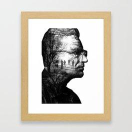 Bono Poster Framed Art Print