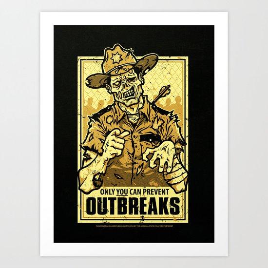 Outbreak Prevention Art Print