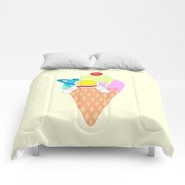 Space Odyssey Ice Cream | Astronaut Ice Cream | Space Ice Cream | Galaxy Ice Cream | pulps of wood Comforters