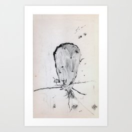 Up rooted 2 Art Print