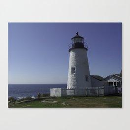 Pemiquid, Maine Lighthouse Canvas Print