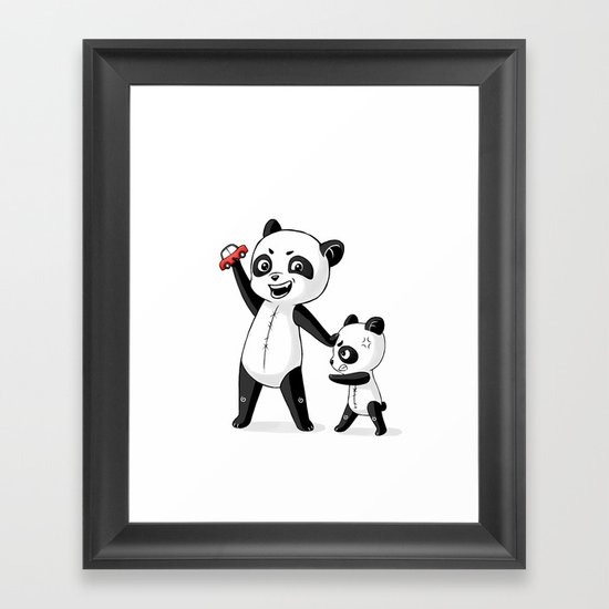 Panda Brothers Framed Art Print