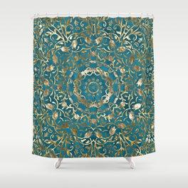 Moroccan Style Mandala Shower Curtain