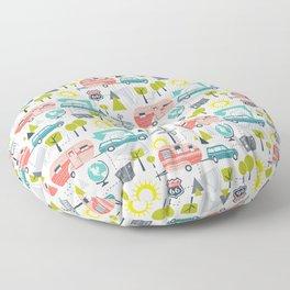 Road Trip Floor Pillow