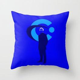 Elliot Carver Throw Pillow