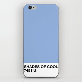 shades of cool iPhone Skin