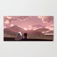 On the Run Canvas Print