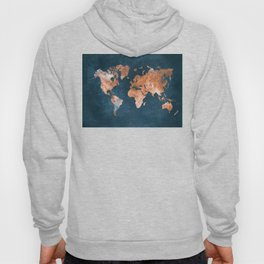 world map 15 Hoody