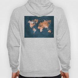 world map 15 Hoody