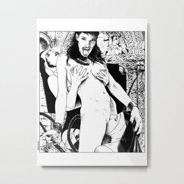 asc 449 - La fripone divine (The Trickster) Metal Print