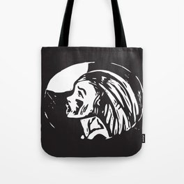 cry to the moon Tote Bag