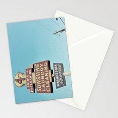 Sunshine Laundry Cleaning Stationery Cards