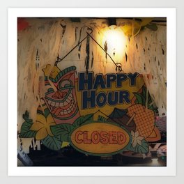 Closing Time Art Print