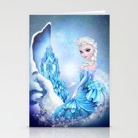 elsa Stationery Cards featuring ELSA by Annya Kai