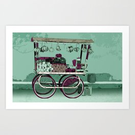 FRUIT STOP Art Print