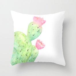 Watercolor Cactus | Buy Watercolor Art | Society 6 Throw Pillow