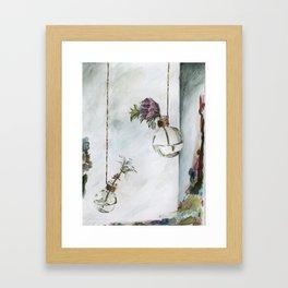 Intimacy (Oak Leaf Geranium, Saxifrage)   Framed Art Print