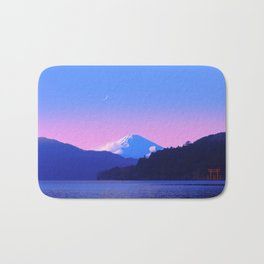 Mount Fuji Sunrise Bath Mat