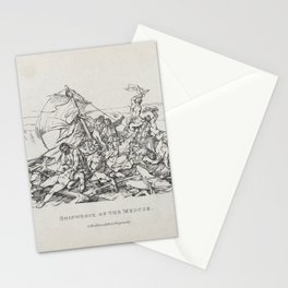 Shipwreck of the Meduse,1820 Stationery Cards