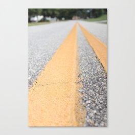 Take the Road Canvas Print
